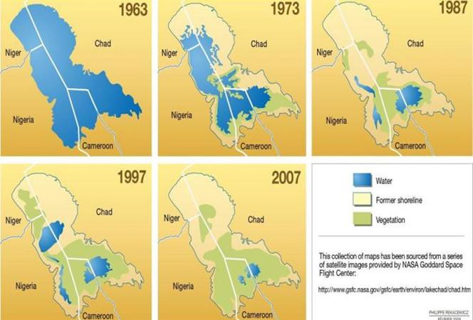 Makale   Çad Gölü Havzası: İklim Değişikliği ve Bölgesel Etkileri