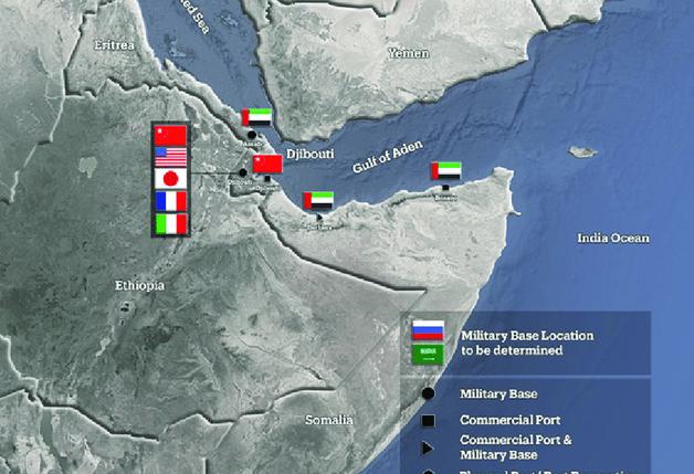 Analiz   Kıta Dışı Güçlerin Afrika'daki Askeri Üsleri Bağlamında Afrika Boynuzunun Eleştirel Okuması