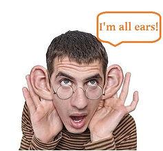 listening in english