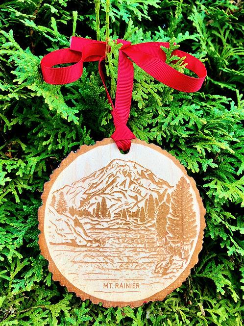 Mt. Rainier Ornament