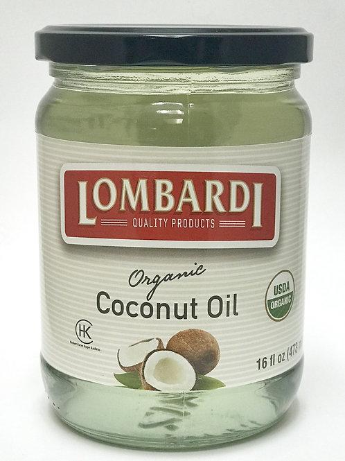 COCONUT OIL 16 OZ
