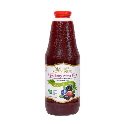 SUPER BERRY POWER BLAST | %100 | NON-GMO