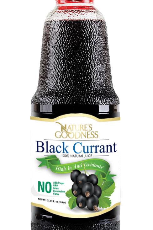 BLACK CURRANT JUICE | %100 | NON-GMO