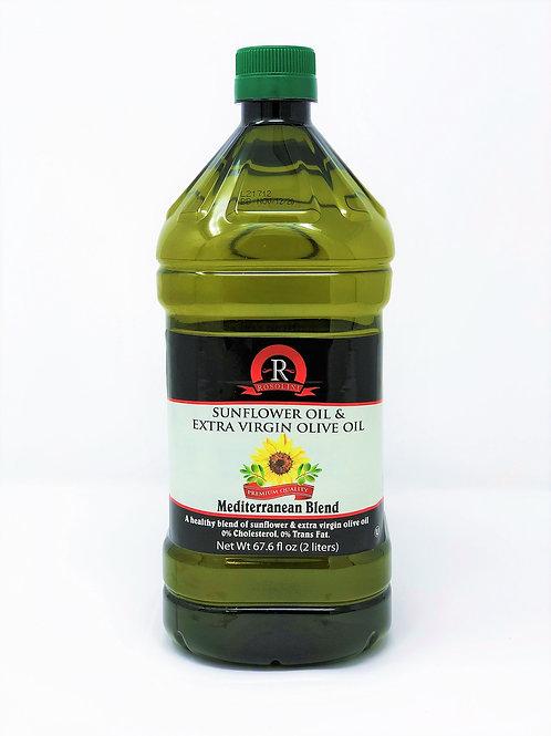 EXTRA VIRGIN OLIVE OIL & SUNFLOWER OIL BLEND 68 FL OZ