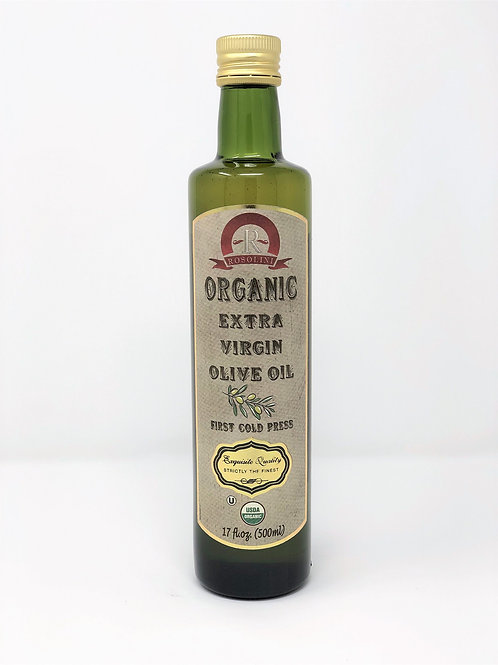 ORGANIC EXTRA VIRGIN OLIVE OIL | 17 FL OZ