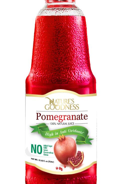 POMEGRANATE JUICE | %100 | NON-GMO