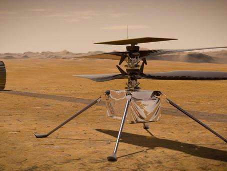 Ingenuity – první bezpilotní vrtulník na Marsu