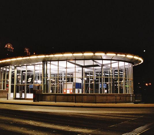 Ungarbrücke Schnellbahnstation Hochbau
