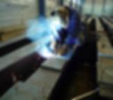 Schweissen Stahlträger