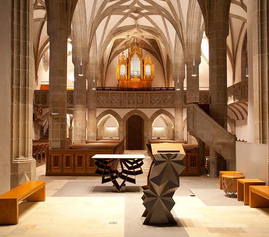Pfarrkirche Wartber ob der Aist Kunstwerk Judith Fischer