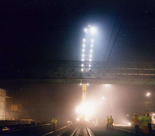Brückeneinheben Gloggnitz Brückenbau