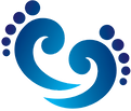 Foot Logo blue - no bkgnd gamma 0_90_edi