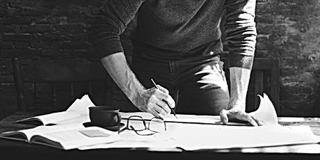 Architect Engineer Draft Blueprint Plan
