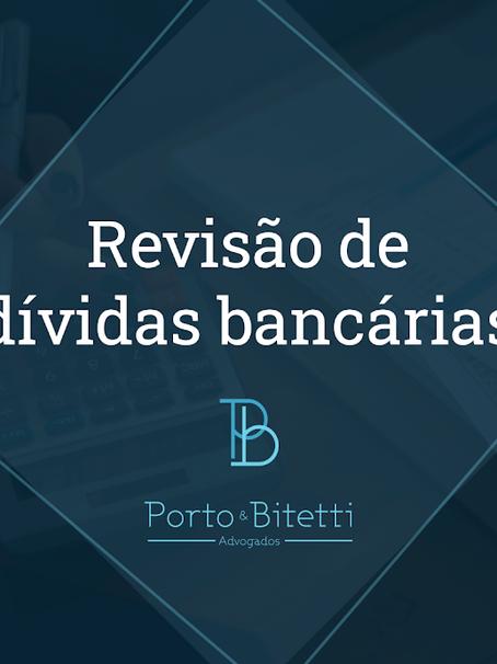 Revisão de dívidas bancárias