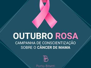 Outubro Rosa: campanha de conscientização sobre o câncer de mama