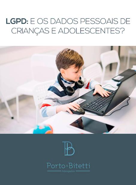 LGPD: e os dados pessoais de crianças e adolescentes?
