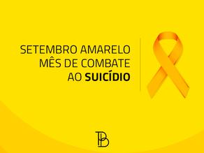 Setembro amarelo: mês de combate ao suicídio