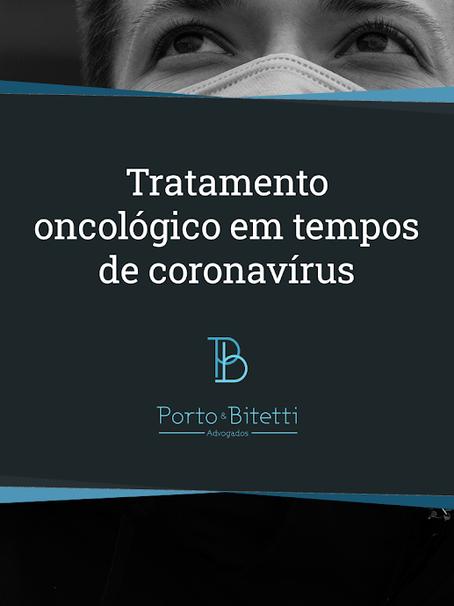 Tratamento oncológico em tempos de pandemia
