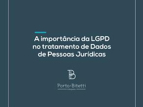 A importância da LGPD para pessoa jurídica