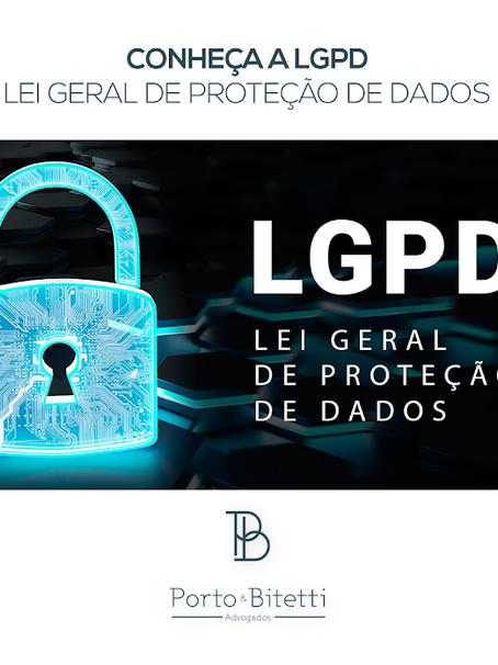 LGPD: fique por dentro da nova lei de proteção de dados