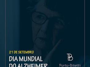 Dia Mundial de Conscientização sobre a Doença Alzheimer - 21 de setembro