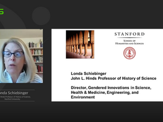 Keynote Lecture: Gendered Innovation in Science, Health & Medicine, Technology, and Environment