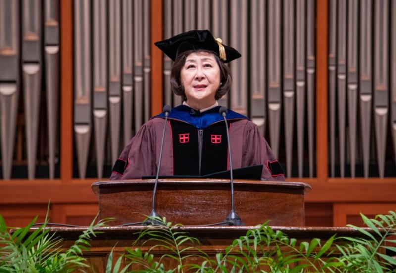 KIM Eun Mee, President of Ewha