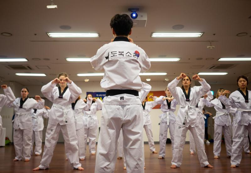 Self-Defense with Taekwondo