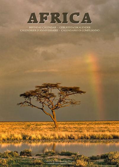 AFRICA - A3 Afrika Kalender