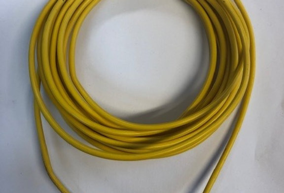 Automotive Cable Yellow  Single Core 17.5amp 2mm