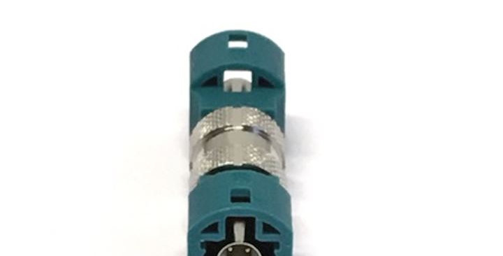 HSD Adaptor Male to Male Code Z Waterblue (HSD-NEUP-NEUP)
