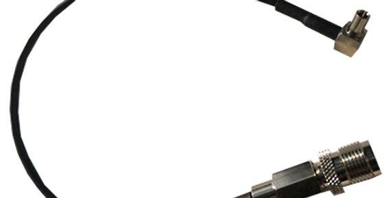 TNC Female - TS9 Right Angle Antenna Adaptor (C74-TJ-025TS9RA)