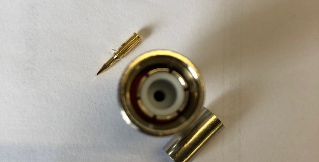 TNC Male Plug Crimp Connector for RG58