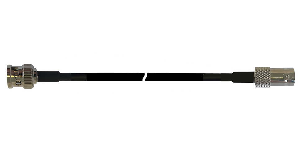 BNC Male to BNC Female RG58 Cable Extension (10m) (C23BP-10B)
