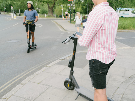 Ginger and Tees Valley authority bring e-scooter's to the road's of Teeside