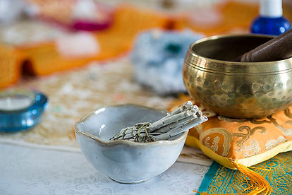 Elemental Space Clearing Smudge Smudging Tools Brass Bowl