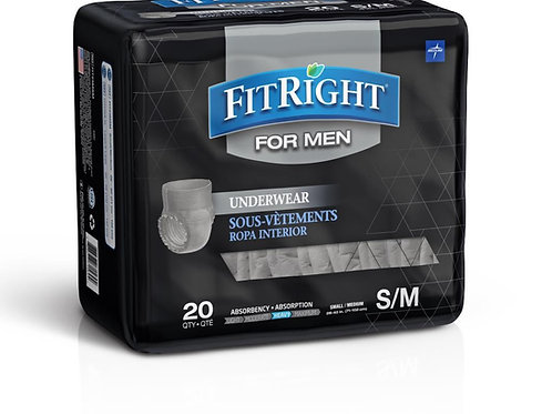 Medline FitRight Ultra Underwear for Men