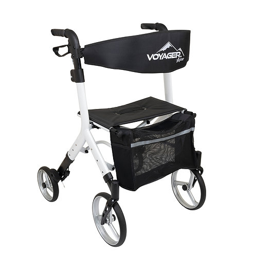 Voyager Adjustable Height Euro Style Rollator