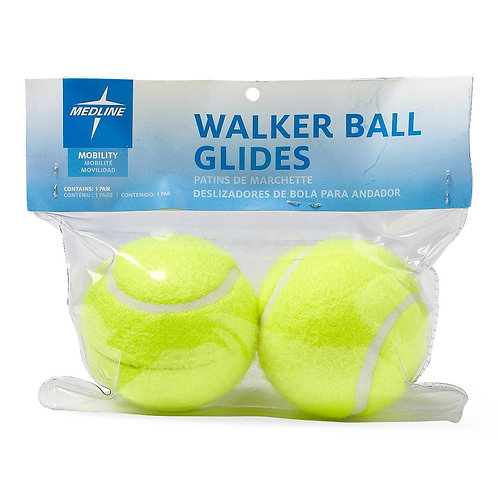 Medline Walker Tennis Ball Glides