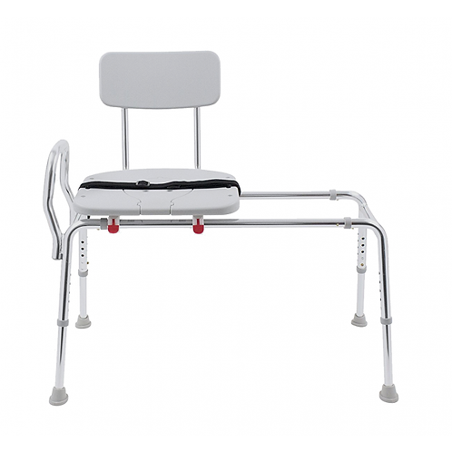 Rose Medical Sliding Transfer Bench with Perineal Cut Out
