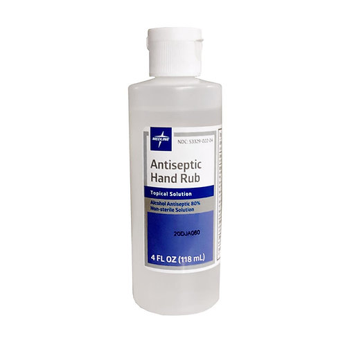 Medline Antiseptic Alcohol Hand Rubs