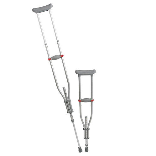 Medline Quick Fit Aluminum Crutches