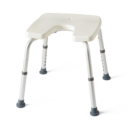 Medline Shower Chair with Perineal Opening