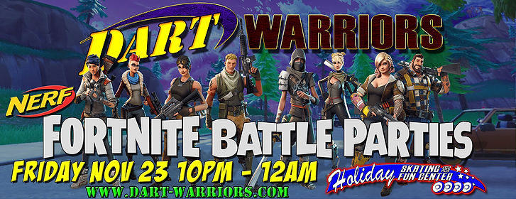 Holiday Fortnite battle parties banner 2