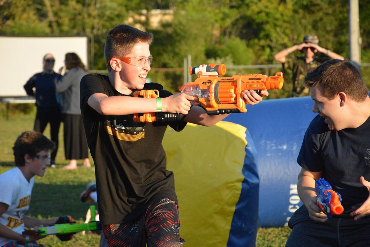 Guns and Hoses Nerf Wars 3