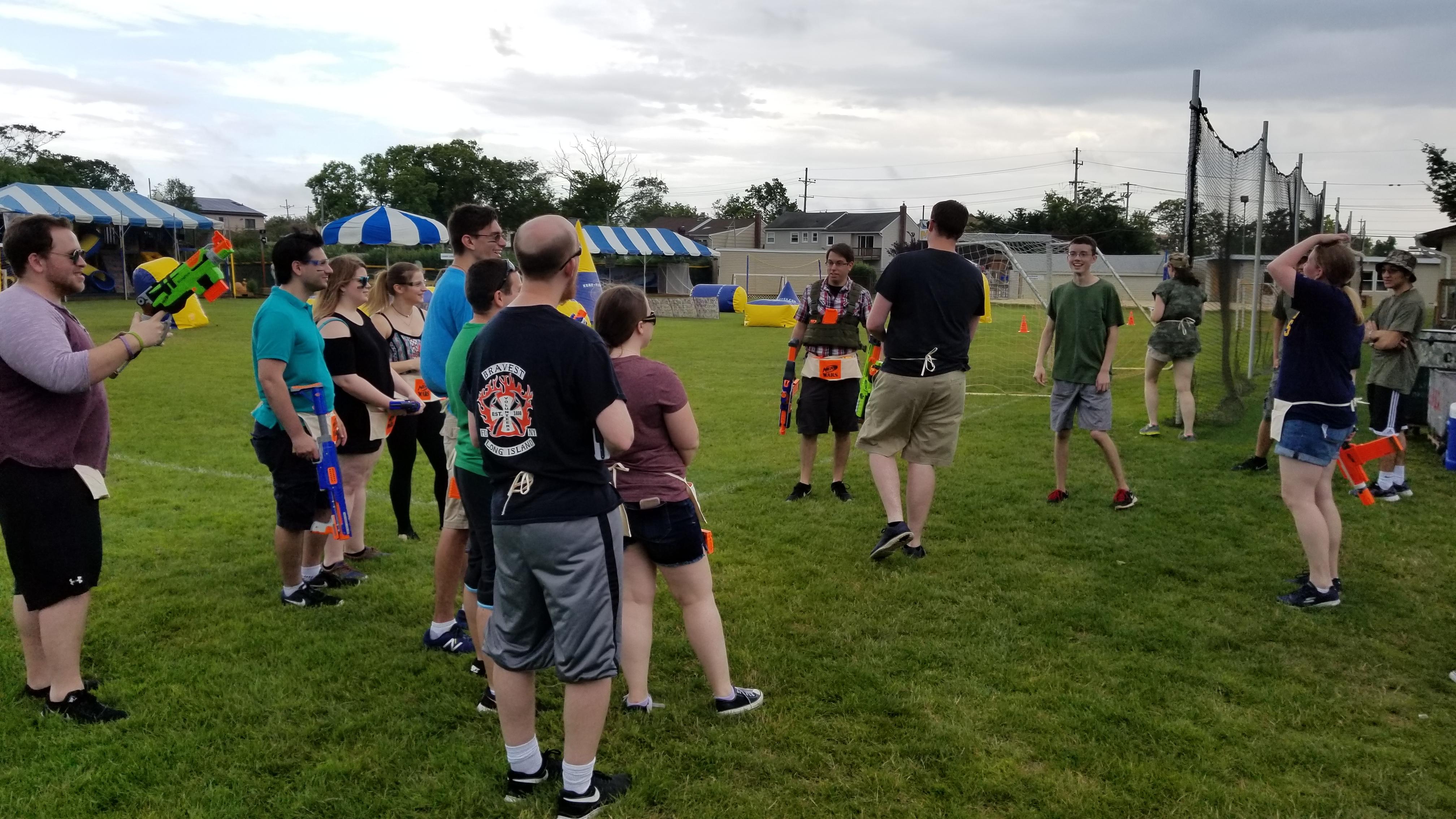 Nerf Wars Event