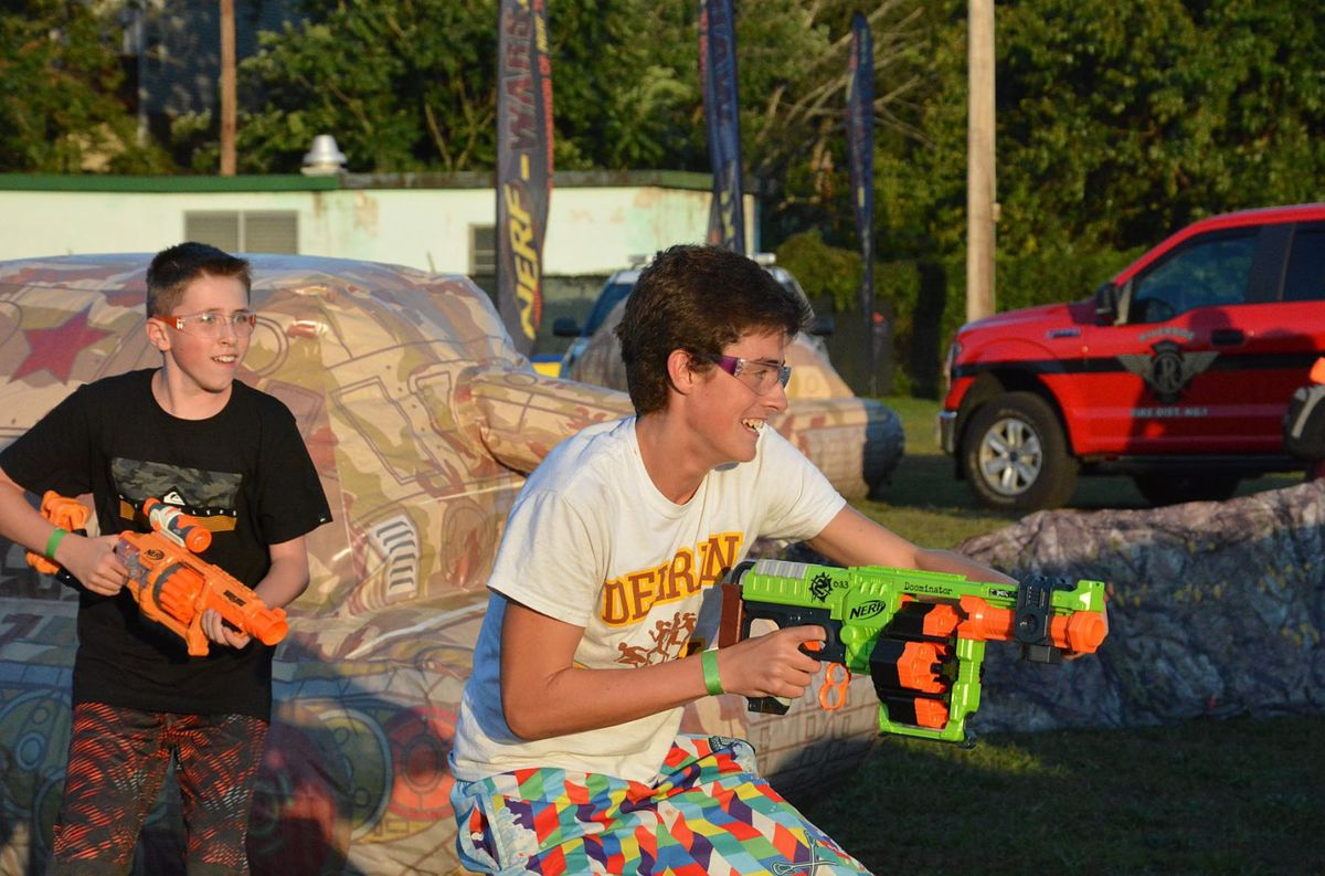 Guns and Hoses Nerf Wars 8