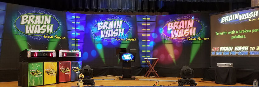Brain Wash Game Show schools corporate best top number 1 game show team building entertainment Eric Dasher stem