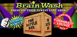 Brain Wash Game Show schools corporate best top number 1 game show team building entertainment Eric Dasher