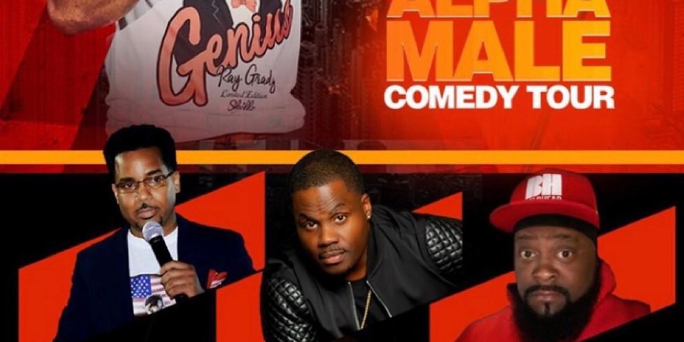 LYNCHBURG, VA - Ray Grady's Alpha Male Comedy Tour at Champions